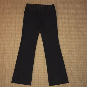 The Limited size 2 bootcut black slacks